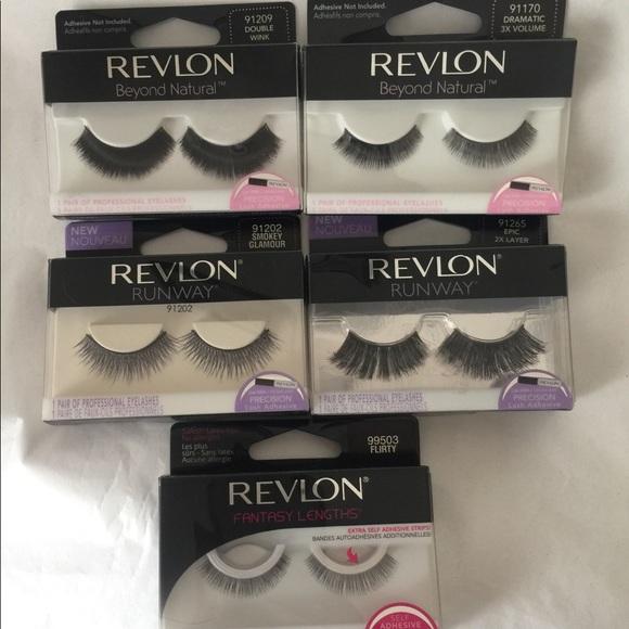 Revlon Makeup Eyelashes Bundle Of 5 New Poshmark